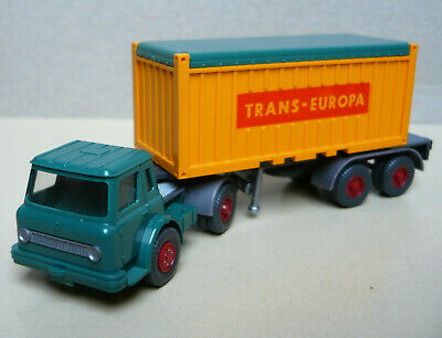 1//87 Wiking Open Top 20 ft Container Trans-Europa 526TE