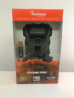Wildgame Innovations Cloak Pro 16MP Trail & Game Camera 8X AA Batteries Included