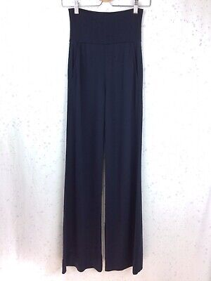 Cabi Size XS Chance Wide Leg Pants Navy Blue Stretch Pull On Style 5501R
