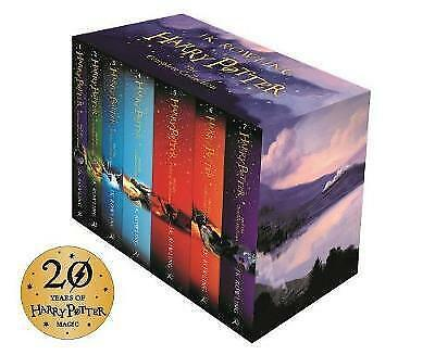 Harry Potter Box Set Complete Collection by J.K. Rowling ONLY READ 3 OF THE BOOK