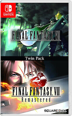 Nintendo Switch Final Fantasy VII and Final Fantasy VIII Remastered Twin Pack