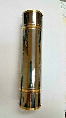 Hermle-Keininger grandfather weight shell 60 x 245 black and brass