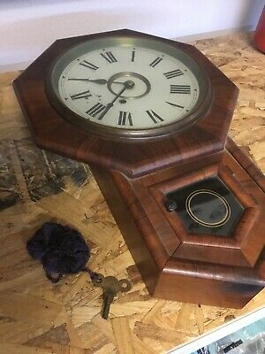10 Inch Octagon Time Piece (New Haven)