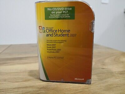 Microsoft Office Home and Student 2007 GENUINE + PRODUCT KEY