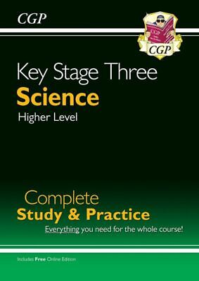 KS3 Science Complete Study  Practice (with online edition) (CGP KS3 Science)