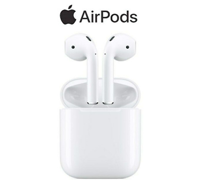 Genuine Apple AirPods 2nd Generation Wireless Airpods Wired Charging Case
