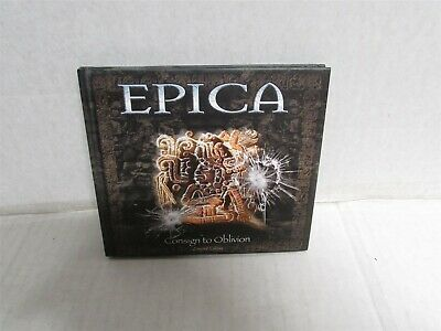 EPICA Consign To Oblivion 2005 CD & DVD Limited Edition Book Cover Transmission