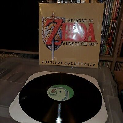 The Legend Of Zelda A Link To The Past Vinyl Record Select Start