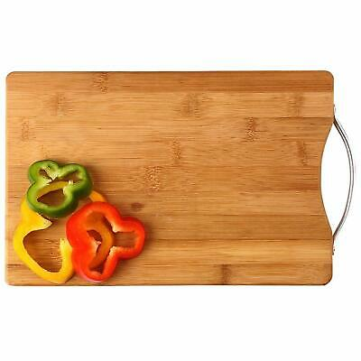Wooden Kitchen Chopping Cutting Slicing Board With Holder For Fruit Vegetables