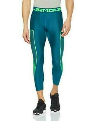 NWT $34.99 Under Armour Men's 3/4 Compression Pant Tights Size L 1309925-716