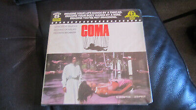 Coma Super 8 Colour Sound 400Ft 8Mm Cine Film Rare Michael Douglas