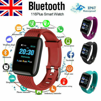 Smart Watch Band Sport Activity Fitness Tracker For Kids Fit bit Android iOS UK*