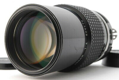 【Near Mint】Nikon AI Nikkor 200mm f/4 Ai Telephoto MF Lens from Japan-#1797