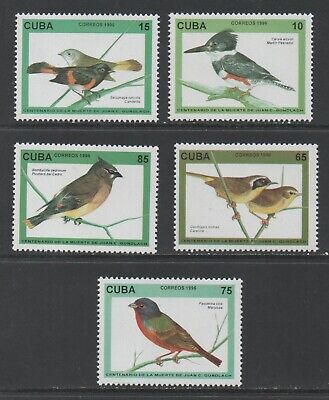 Thematic Stamps Animals - CARIBBEAN 1996 BIRDS 5v  4063/7 mint