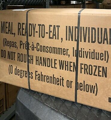Army MRE Case (A and B available) Military Surplus 2020/2021 Inspection Dates
