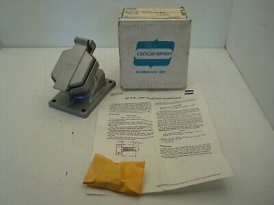 Crouse-Hinds Enr 5151 Explosion Proof Receptacle 15A 125 Vac New Surplus
