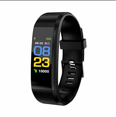 Smart Watch Fitness Tracker Fitbit Bluetooth Wristband Caolorie Sport Android iP