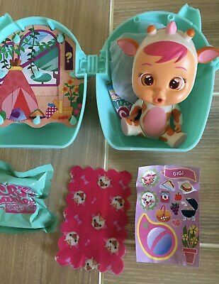 Cry Babies Magic Tears GiGi NEW American version with blanket and stickers