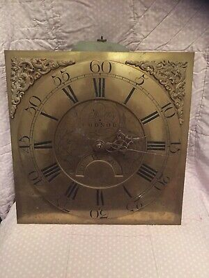 RARE Jn Woolley, Codnor  30 Hour Longcase Grandfather clock movement