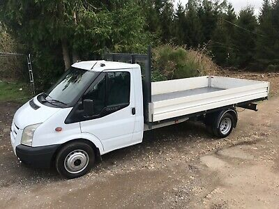 Ford Transit 125 Bhp T350 Lwb Dropside Pick Up Truck 13Ft 6 Bed