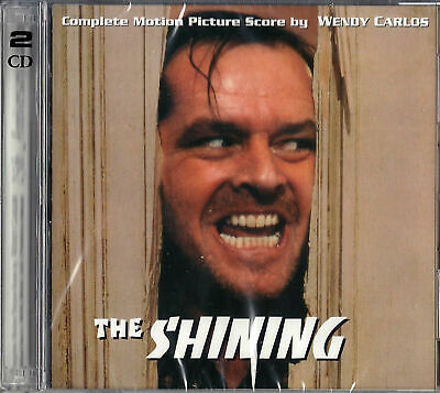 THE SHINING Wendy Carlos 2 CD SET COMPLETE SCORE EDITION