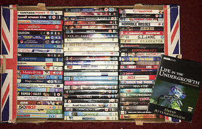 (Region 2-UK) Mixed Cert. Single/Series- Very Good Condition.Offers