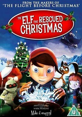 The Elf That Rescued Christmas DVD Region 2 *New & sealed*