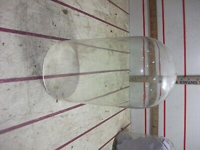 Vintage glass replacement dome for anniversary 400 day clock 8 - 5 inches