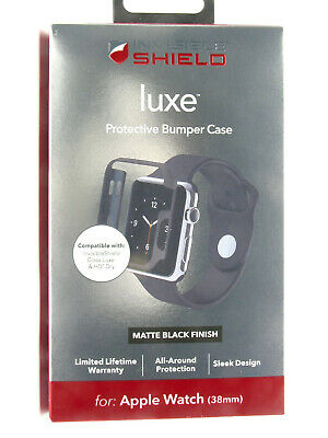 ZAGG Invisible Shield Luxe™ Protective Bumper Case for Apple Watch (38mm)