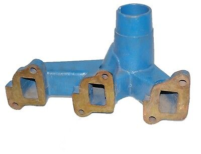 Silencer Exhaust Manifold 3 Cylinder For Ford 3600 Tractors CDN