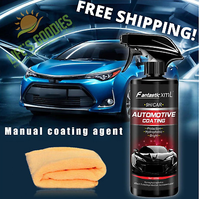 Ceramic Car Coating Spray Polish Sealant Nano Shine Armor Color Protection 500ml