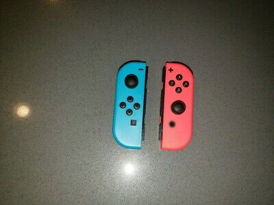 Genuine Nintendo Switch Joy-Con (L/R) Wireless Controllers Set