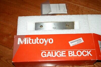 "Mitutoyo 6"" Rectangular Steel Gage Block"