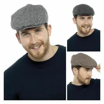 **SALE SALE** Men's  Textile Flat Cap  By Tom Franks GL227