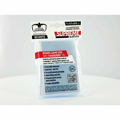 Sleeves Ultimate Guard - Supreme Sleeves for Board Game Cards (80)