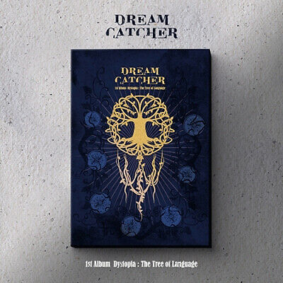 DREAMCATCHER [DYSTOPIA:THE TREE OF LANGUAGE] 1st Album L Ver CD+POSTER+Book+Card