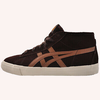 Onitsuka Tiger Fader Mid Men's Vintage Fashion Suede Retro Trainers Brown