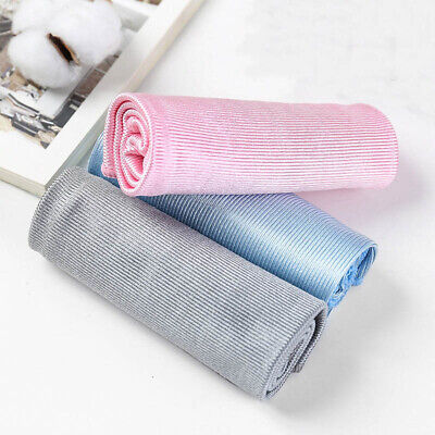 No Trace Microfiber No Lint Window Car Rag Cleaning Towel Kitchen Cleaning CloNM