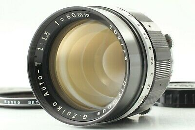 [MINT] Olympus G Zuiko Auto T 60mm f/1.5 Lens For PEN F FT FV from JAPAN #E99