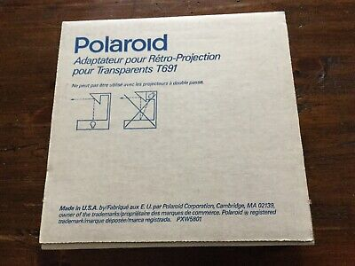 Vintage New Polaroid T691 Overhead Enlarger for Transparencies USA Open Box