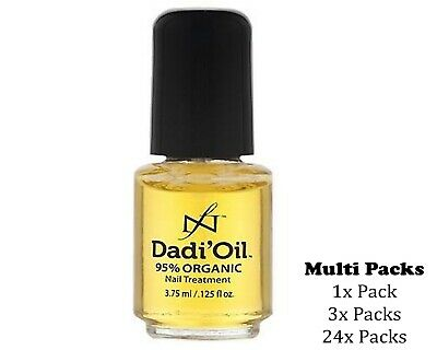 Dadi Oil 95% Organic Nail & Cuticle Conditioner Treatment Multi Packs - 3.75 ml