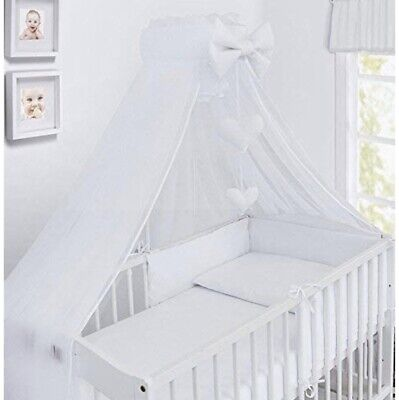 COTBED Craddle Cradle COT COT BED LOVELY  CANOPY DRAPE for BABY Crib