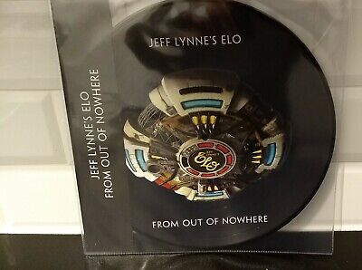 """Jeff Lynne's ELO - From Out Of Nowhere - 12"""" Picture Disc Vinyl L.P - NEW"""