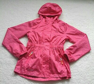 Champion C9 Venture Dry Girls Lightweight Hooded Jacket Size Medium(7-8)