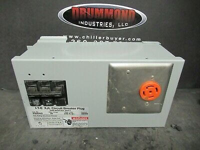 Siemens ITE XQ45G busplug bus duct plug 50amp locking receptacle Leviton cs8369
