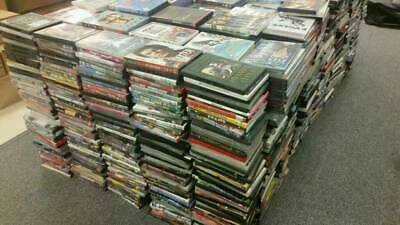 50 DVDs AND CDs MIX JOBLOT / WHOLESALE. PERFECT FOR CAR BOOT SALES.