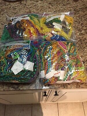 Mardi Gras Beads Necklaces lot  Authentic New Orleans