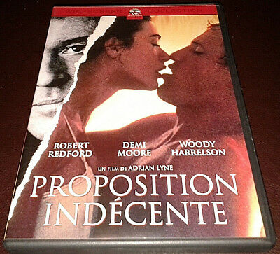 Proposition Indécente - Indecent Proposal (1993) French R2 DVD Plays in English