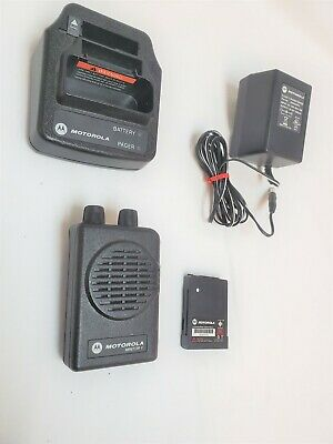 Motorola Minitor V - VHF (167-173.9975 MHz) Pager Stored Voice A03KMS7238BC