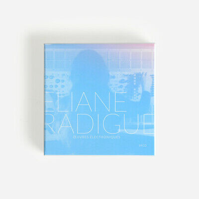 ELIANE RADIGUE Oeuvres Electroniques 14xCD BOX *SEALED* la monte young davachi